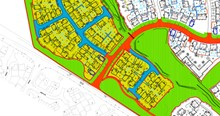 Mackoy Groundworks Site Plan for New Bloor Homes Project in Binfield