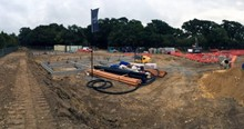 Mackoy Groundworks and Civil Engineering New Upton Poole Site for Wyatt Homes