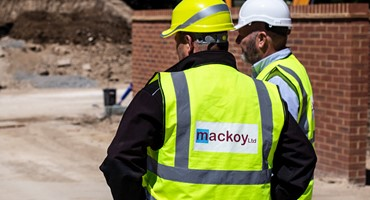 Site Investigation by Mackoy Groundworks Operatives