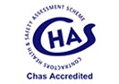Mackoy Groundworks Accreditation Chas Logo