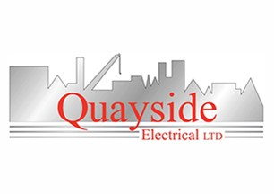 Mackoy Groundworks and Civil Engineering Preferred Contractor Quayside Electrical Ltd Logo