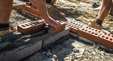 Substructure Brickwork Services by Mackoy Groundworkers on Site
